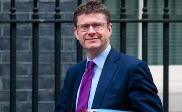 Above: Business Secretary Greg Clarke (pictured) has yet to respond to Danilo's Daniel Prince.
