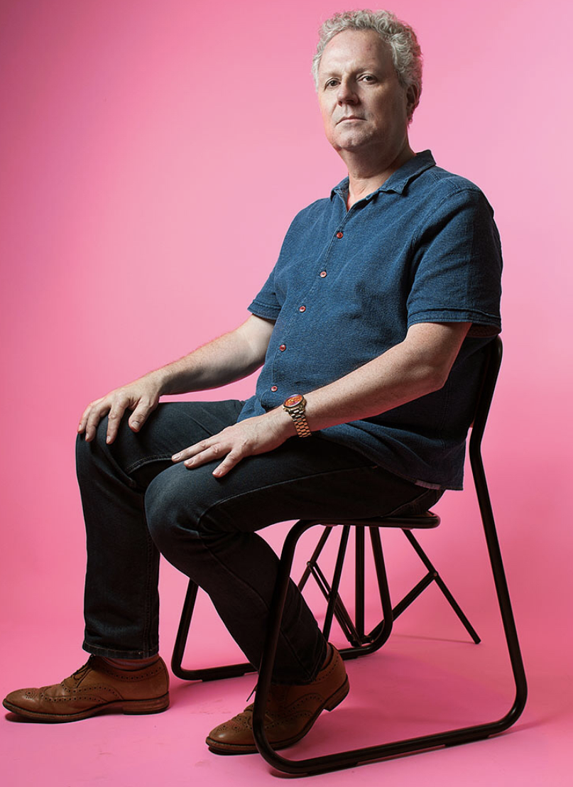Above: Well-respected creative, Geoff Sanderson is to curate the GCA's 100thanniversary exhibition.