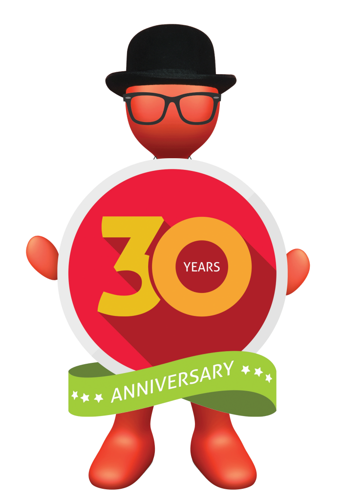 Above: Cardgains is going for it with its 30th anniversary celebrations.