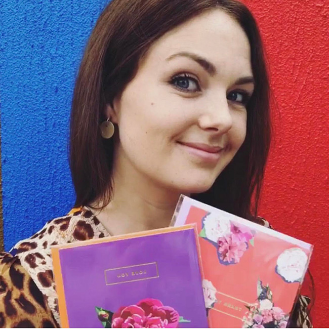 Above: Designer Emily Brooks has instigated theInstagram LIVE chat at 11am on @emilybrooksuk.