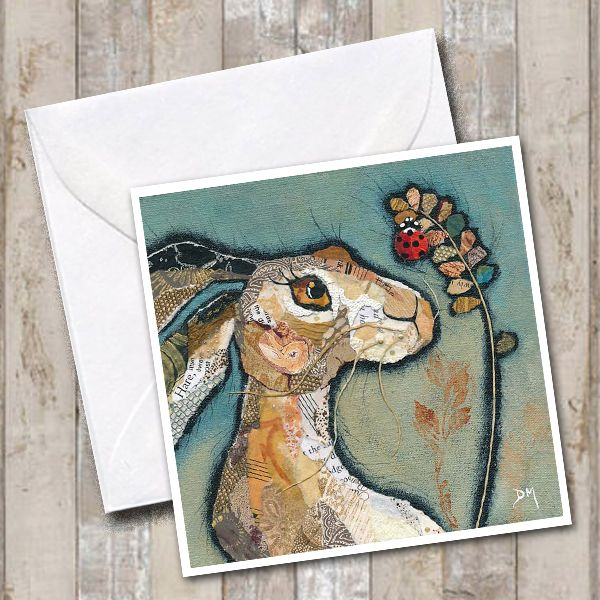 Above: Dawn Maciocia creates gorgeous collage artwork, which are available as cards too.