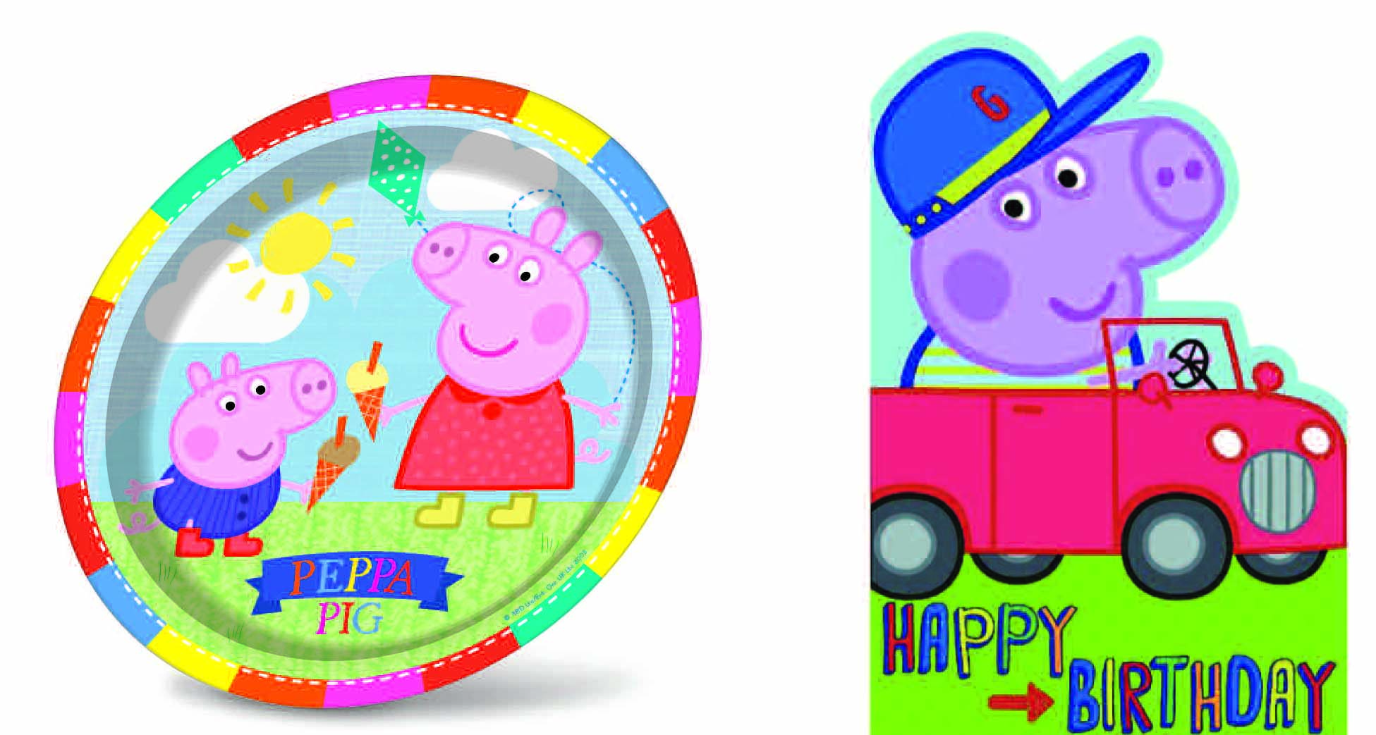 Above: Gemma's licensing agreement with eOne for Peppa was one of its licensing strengths.