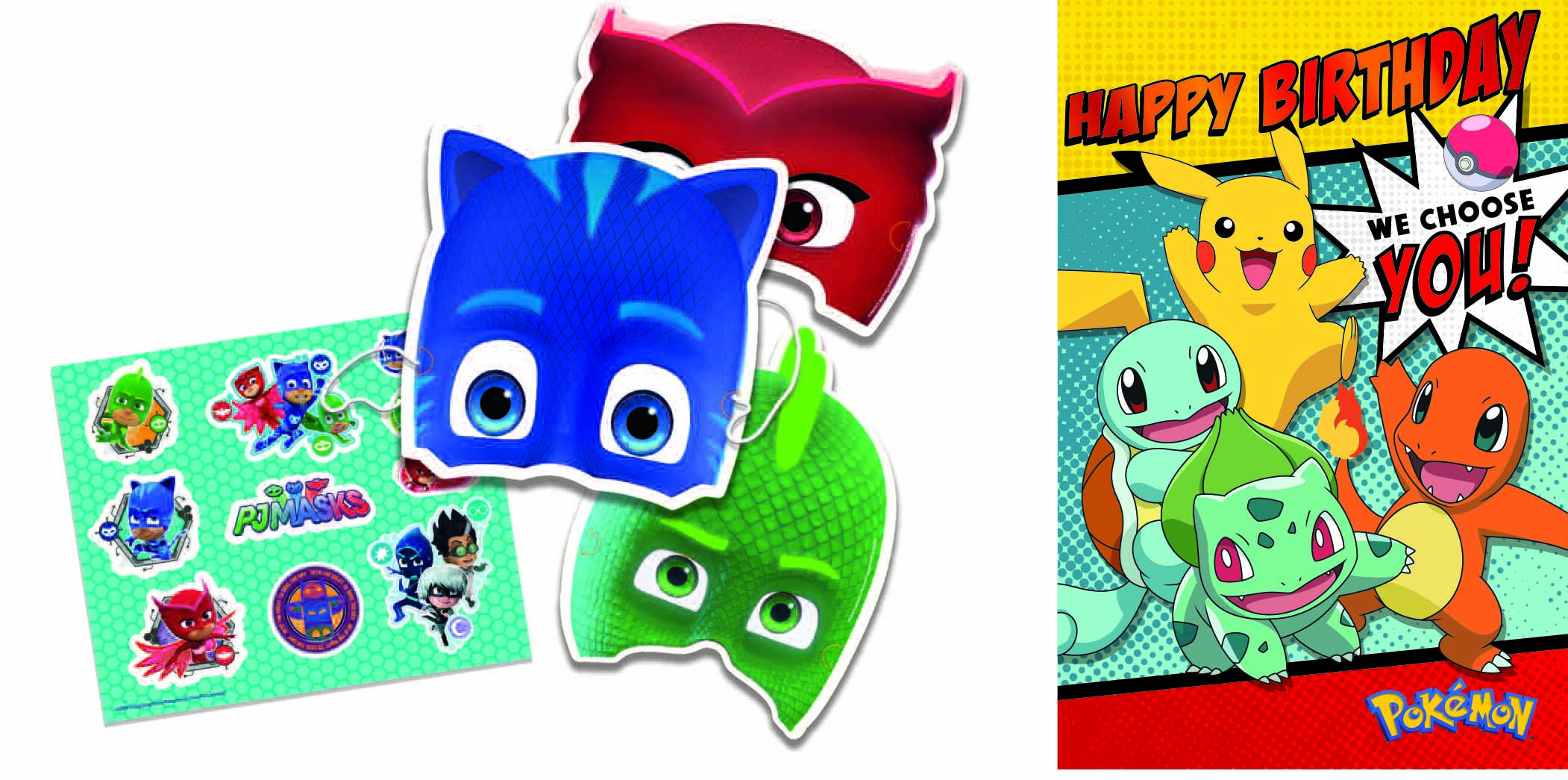 Above: PJ Masks and Pokémon are two more licences which did well for Gemma.