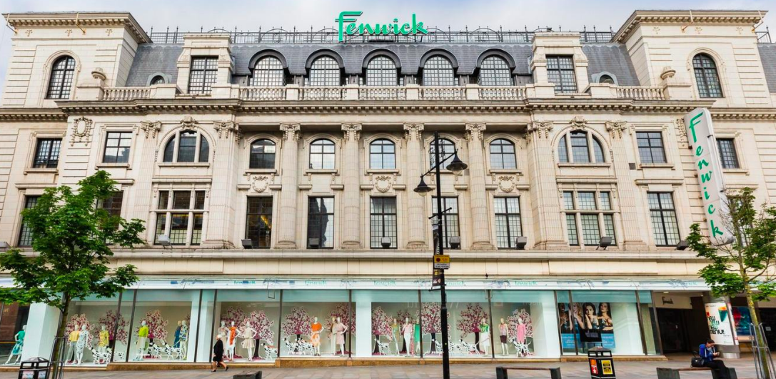 Above: Fenwick's flagship Newcastle store.