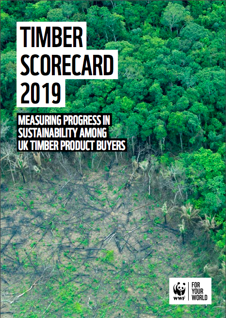 Above: Hallmark was among the 122 companies that were scored in the WWF-UK's recent Timber Scorecard.