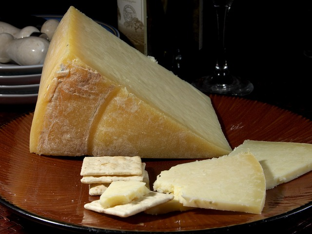 Above: Lancashire cheese is a regional fave for Marion and Mark Flaherty.