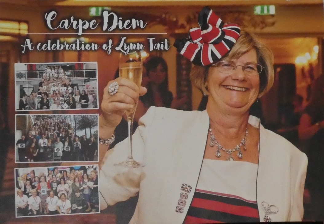 Above: Lynn Tait, the founder of The Ladder Club, whose motto was Carpe Diem.