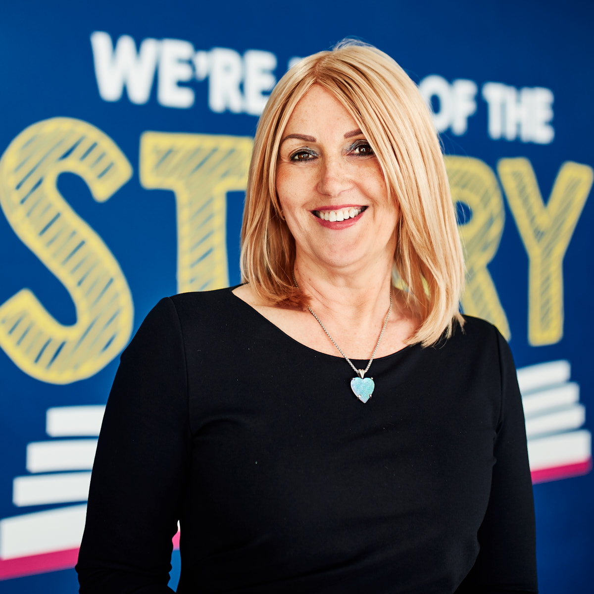 Above: Karen Hubbard, ceo of Card Factory is feeling confident it can deliver a strong year end.