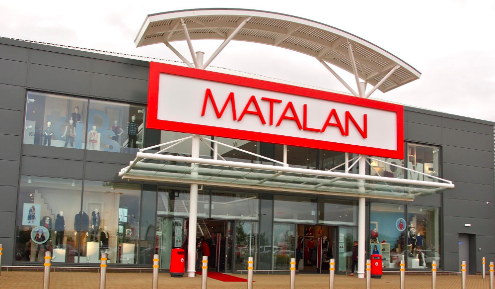 Above: Card Factory is trialling concessions in a couple of Matalan stores.