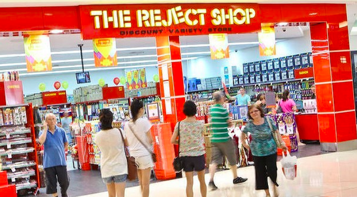 Above: Card Factory has joined forces with 'card disrupter' Australia's Reject Store in a trial down under.