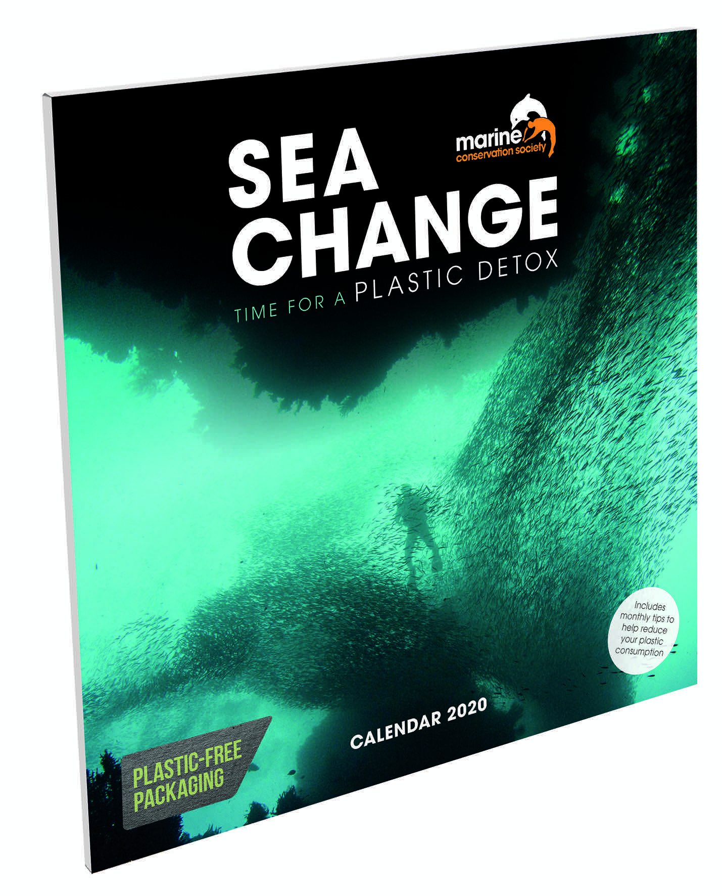 Above: The Sea Change title is one of the first to be featuring Carousel's new eco-friendly packaging approach.