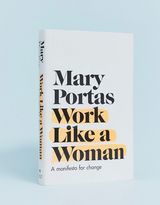 Above: Mary Portas champions the need for more women in the boardroom in her new book.