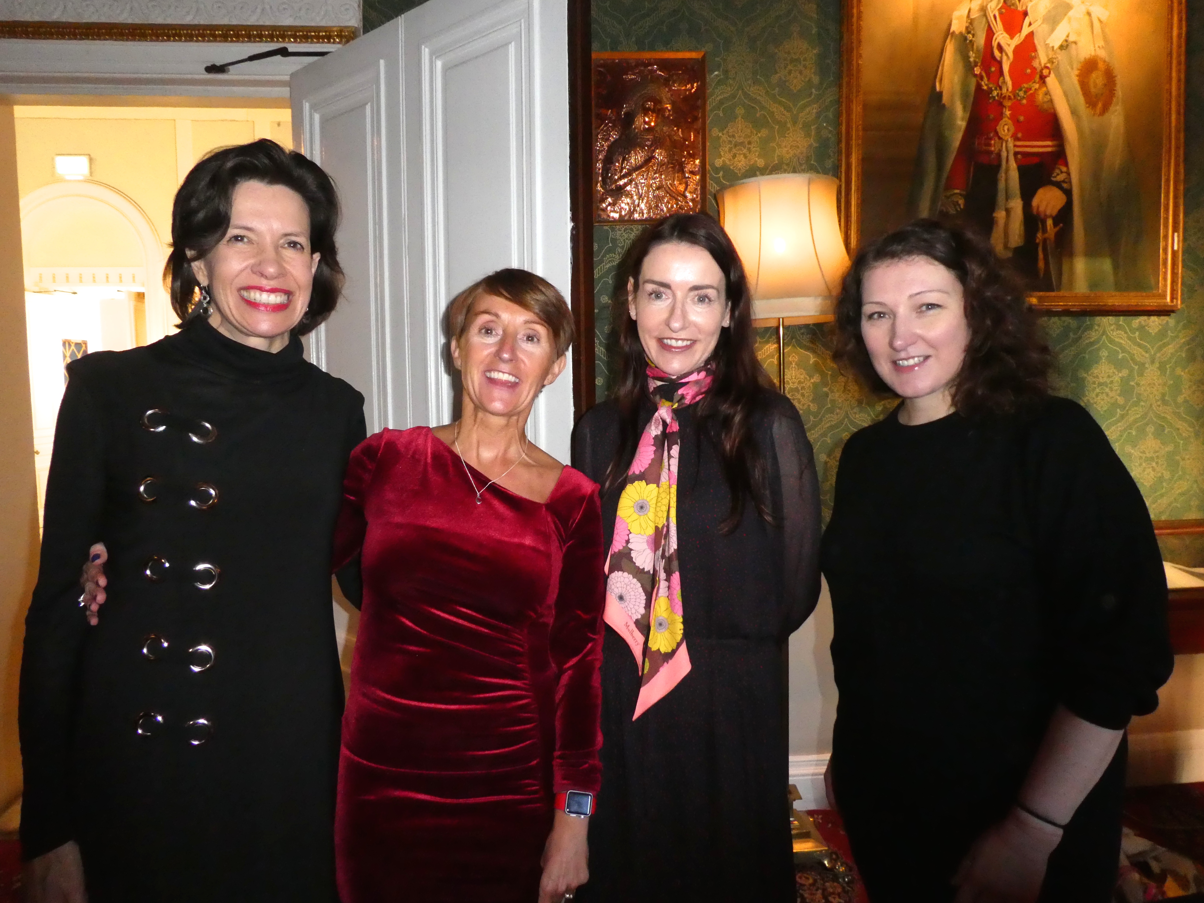 Above: GCA president Ceri Stirland (second left) with incoming president Belly Button's Rachel Hare (second right), GCA ceo Amanda Fergusson (far left) and council member Sarah-Jane Porter of Moonpig.
