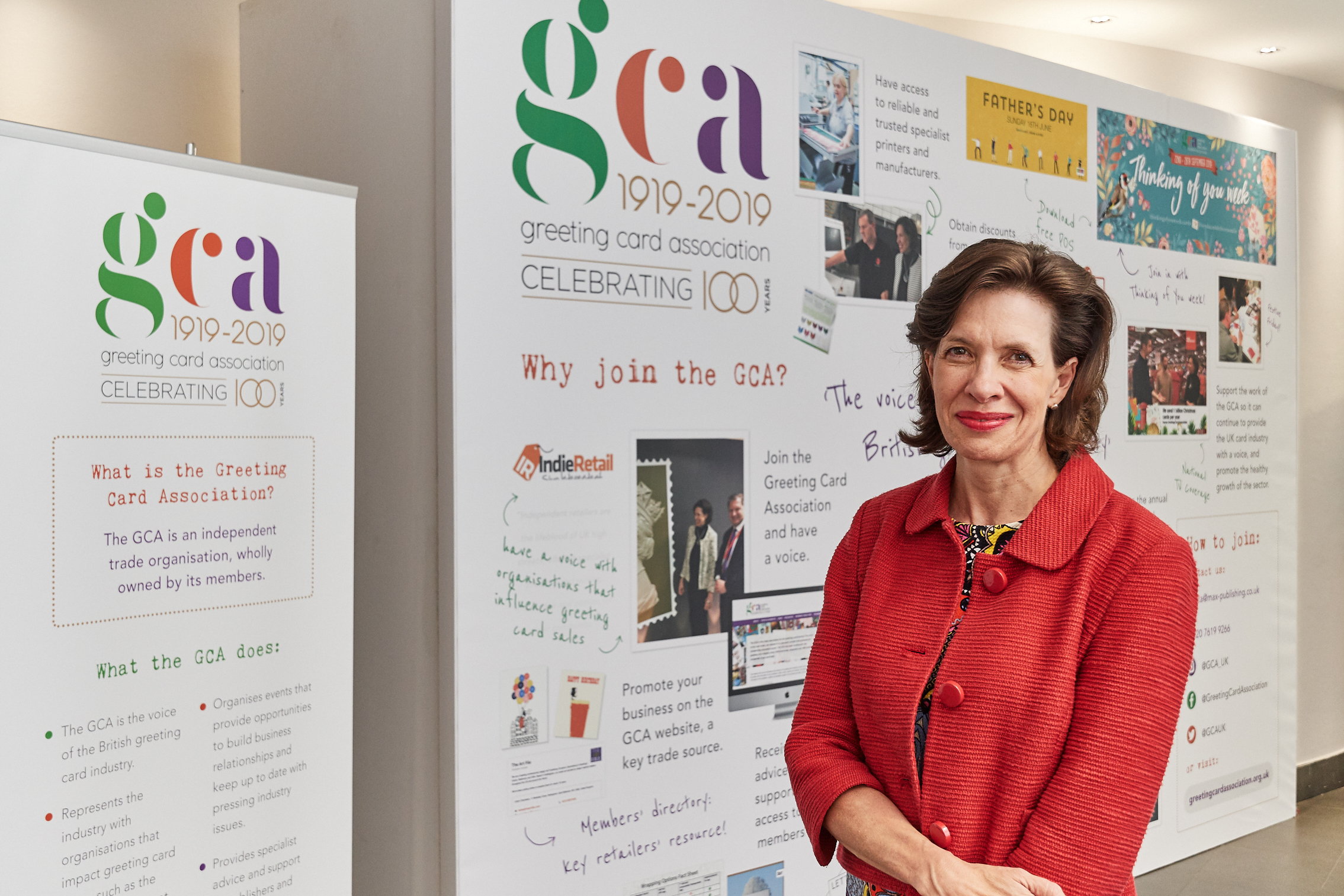 Above: Amanda Fergusson, ceo of the GCA is building up her contacts in Government and with senior civil servants.