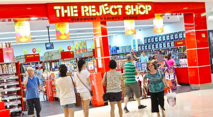 Above: From the start of next year, Card Factory cards will be on sale in all 360 of The Reject Shop stores in Australia.