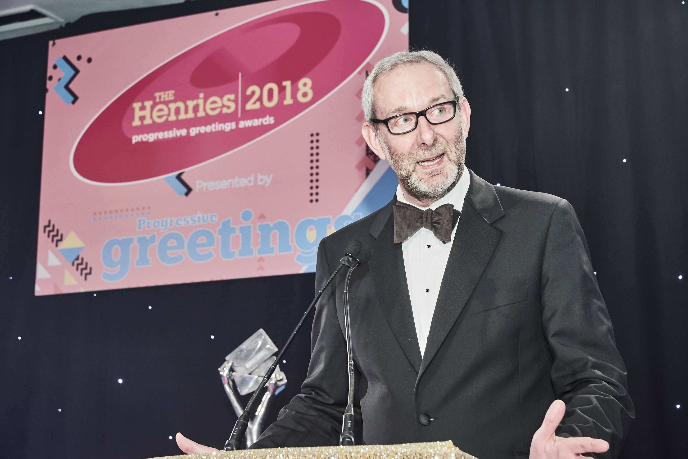 Above: Ged Mace, md of The Art File, who was presented with the Honorary Achievement Award at The Henries last year will share a wealth of information with attendees.