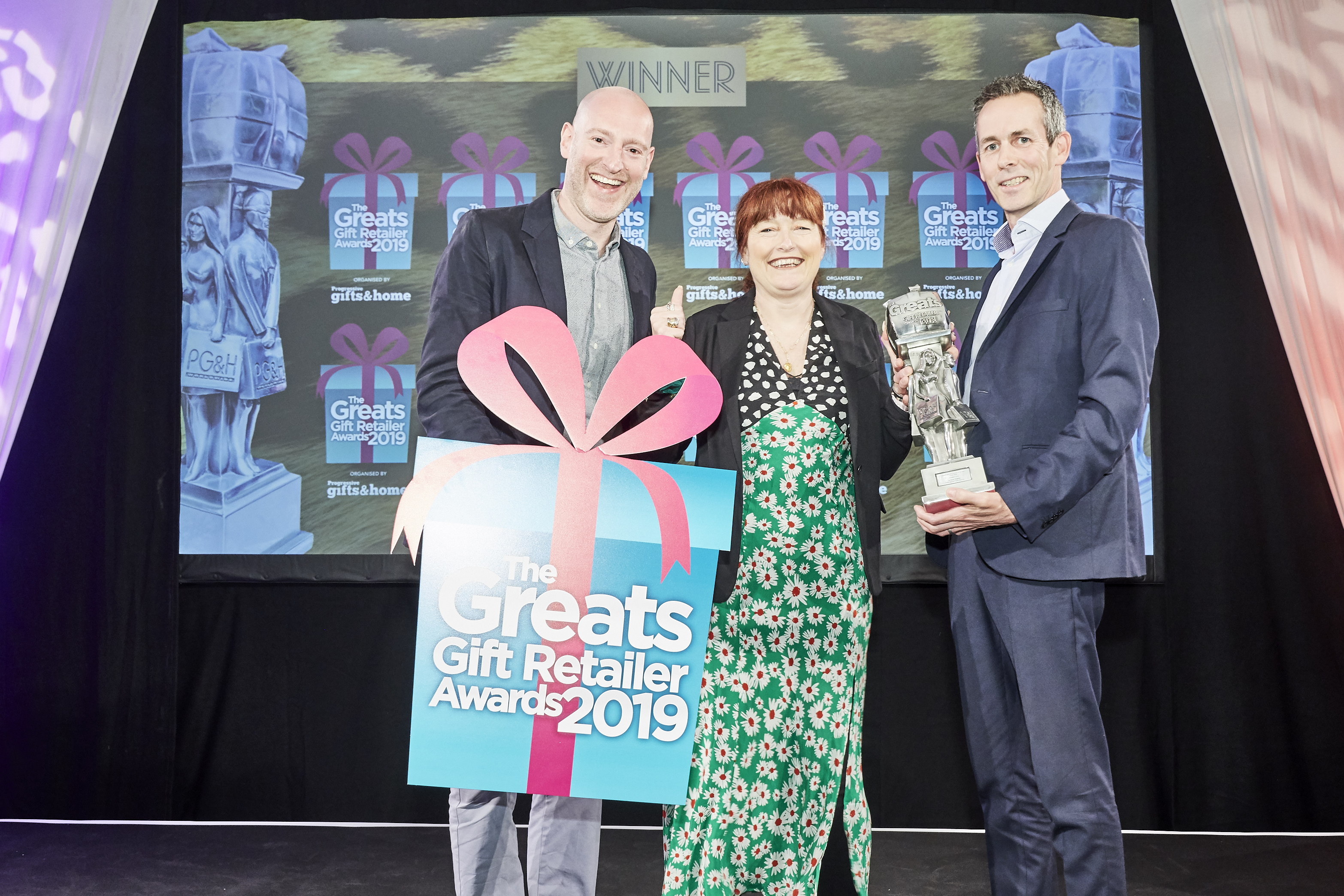 Above: Jo Webber's own retailing prowess was recognised in The Greats gift retailer awards in May at which Jo Amor won Best Independent Gift Retailer – South West.