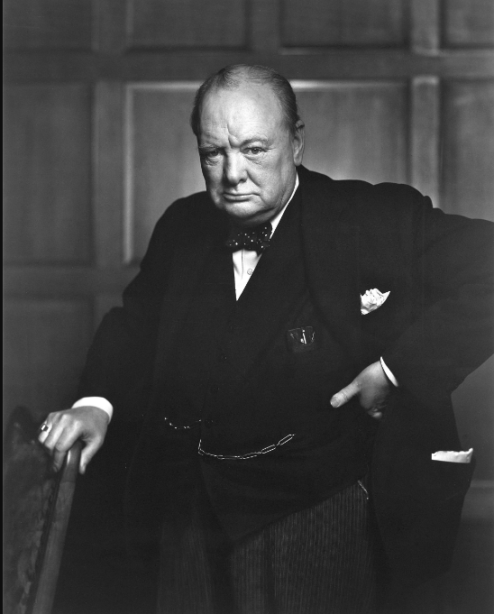 Above: Winston Churchill would be very welcome in Cardzone stores.