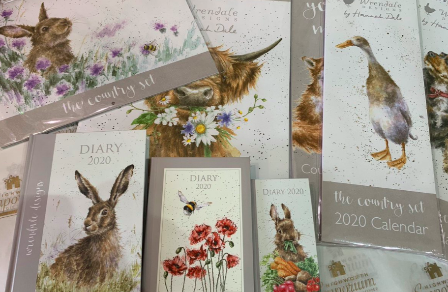 Above: Wrendale Designs, whose products Rose represents in the South West, have produced stickers for retailers to over-label the May bank holiday date if they wish.