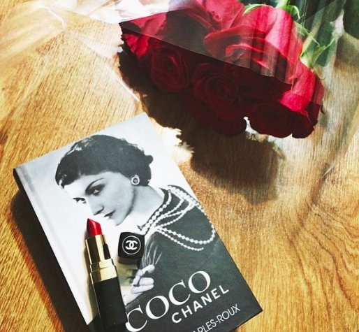 Above: Coco Chanel would add some extra style to Tesco's card areas.
