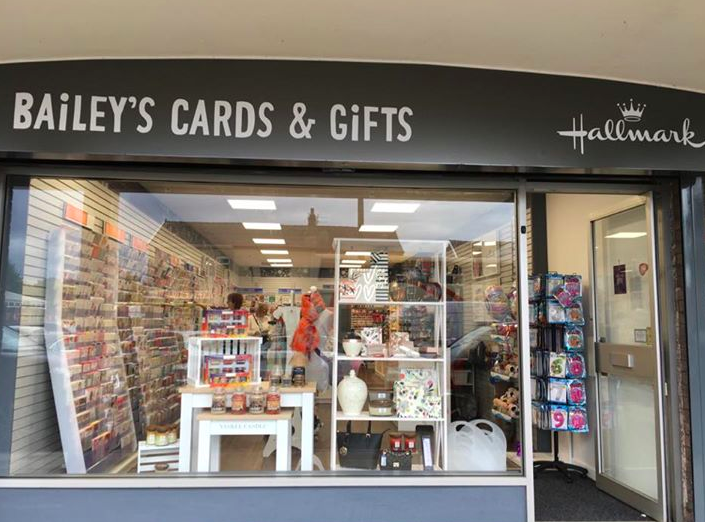 Above: Retas award winning Baileys Cards and Gifts is part of a new breed Gold Crownie.
