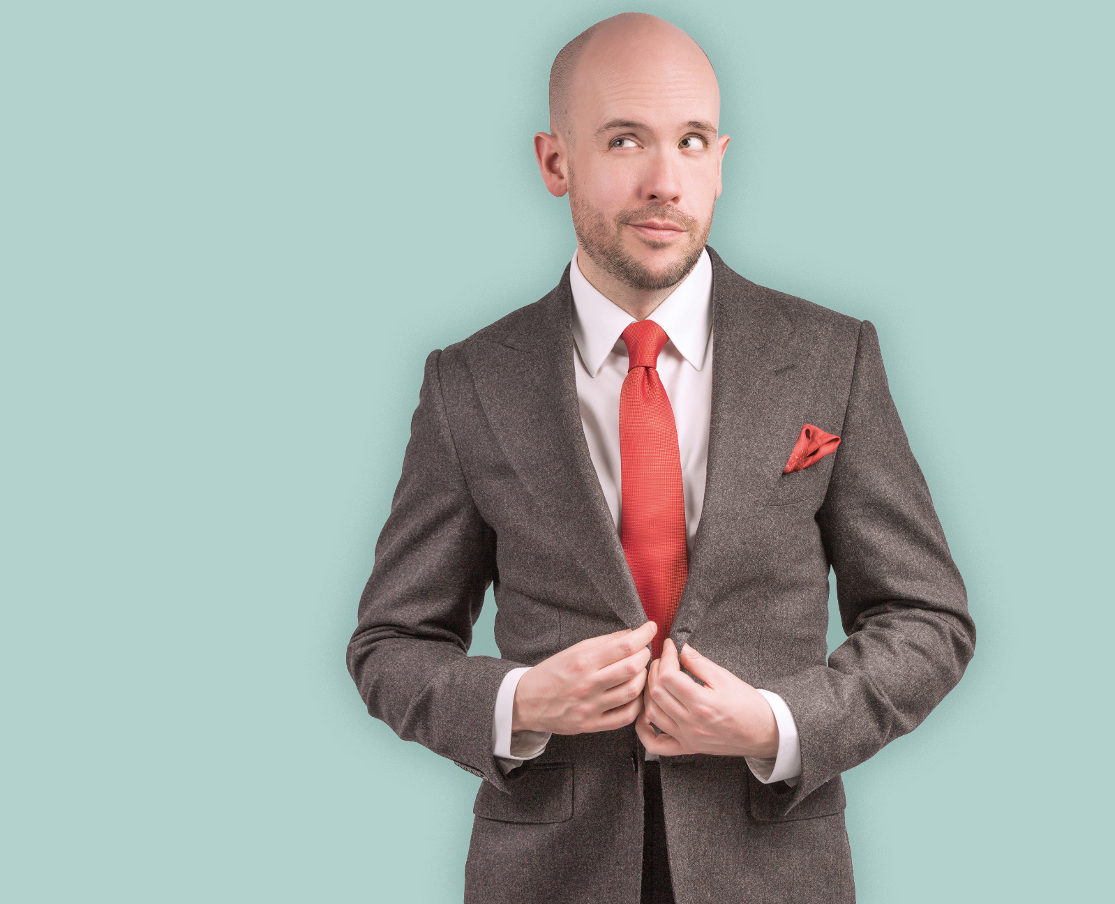 Above: Top comedian, Tom Allen is to host The Henries in October.