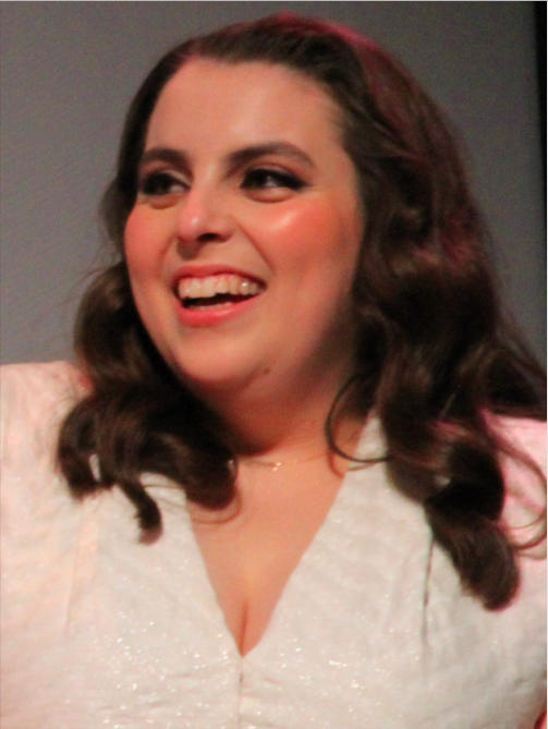 Above: American actress Beanie Feldstein learned her Black Country accent at Wolverhampton's Shop In The Square gift store.