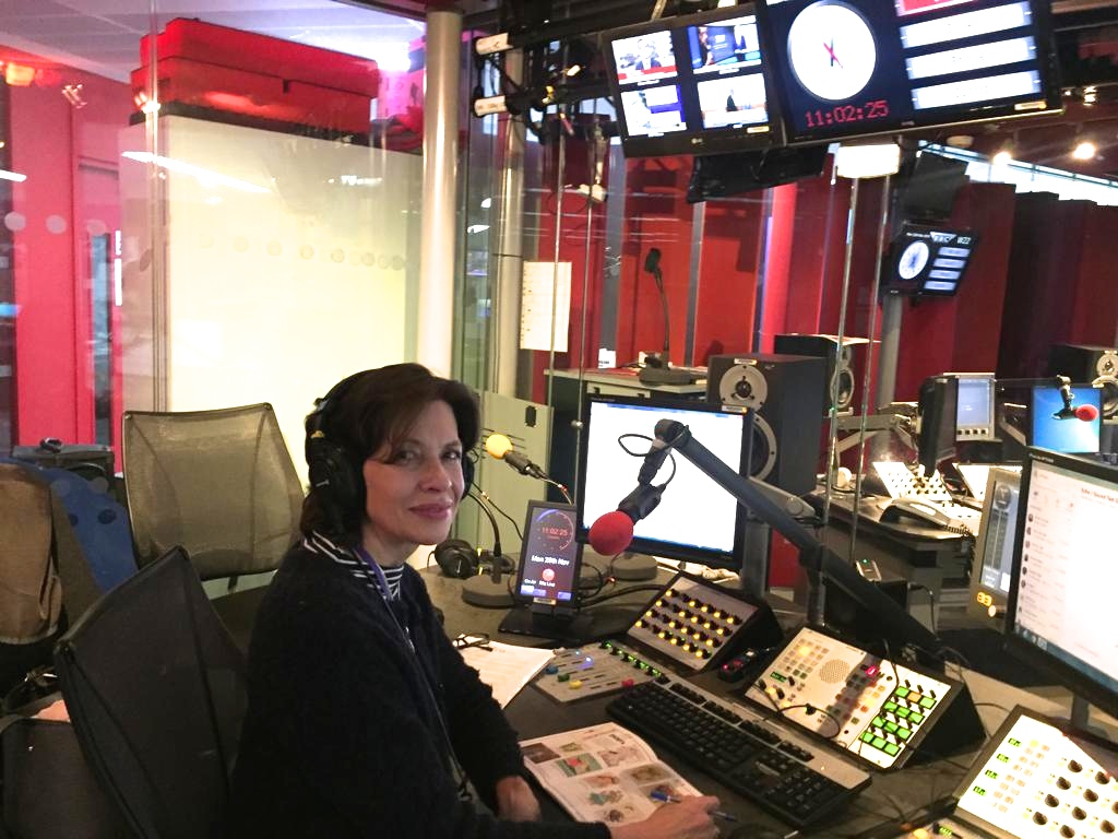 Above: The GCA's Amanda Fergusson was interviewed by nine different BBC radio stations this week connected to the#cardtokeep campaign consumer launch.