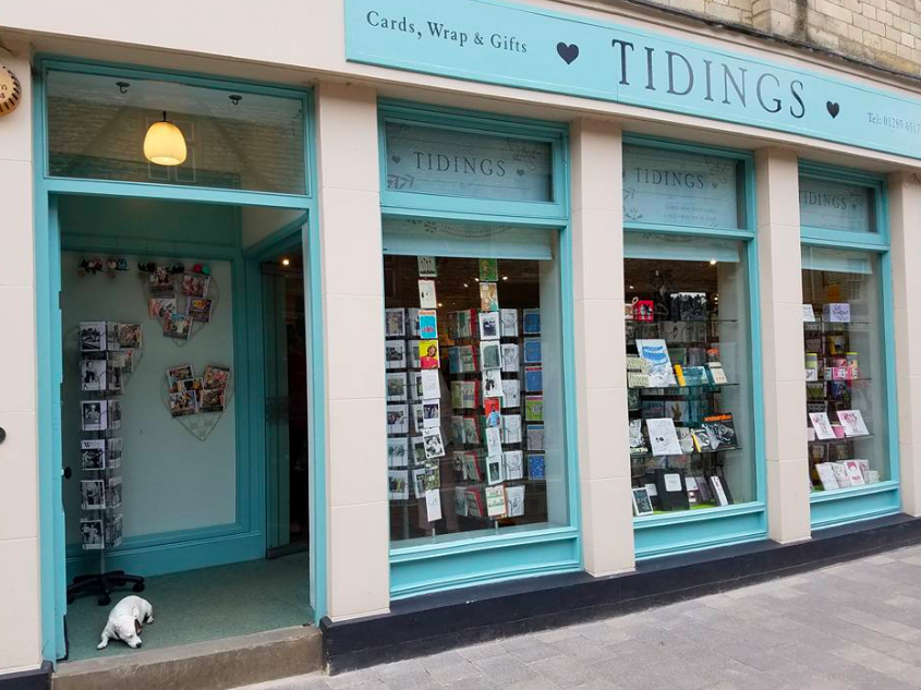 Above: Tidings in Cirencester, formerly owned by Kim Ralph  bolsters Cardzone's premium end activities.