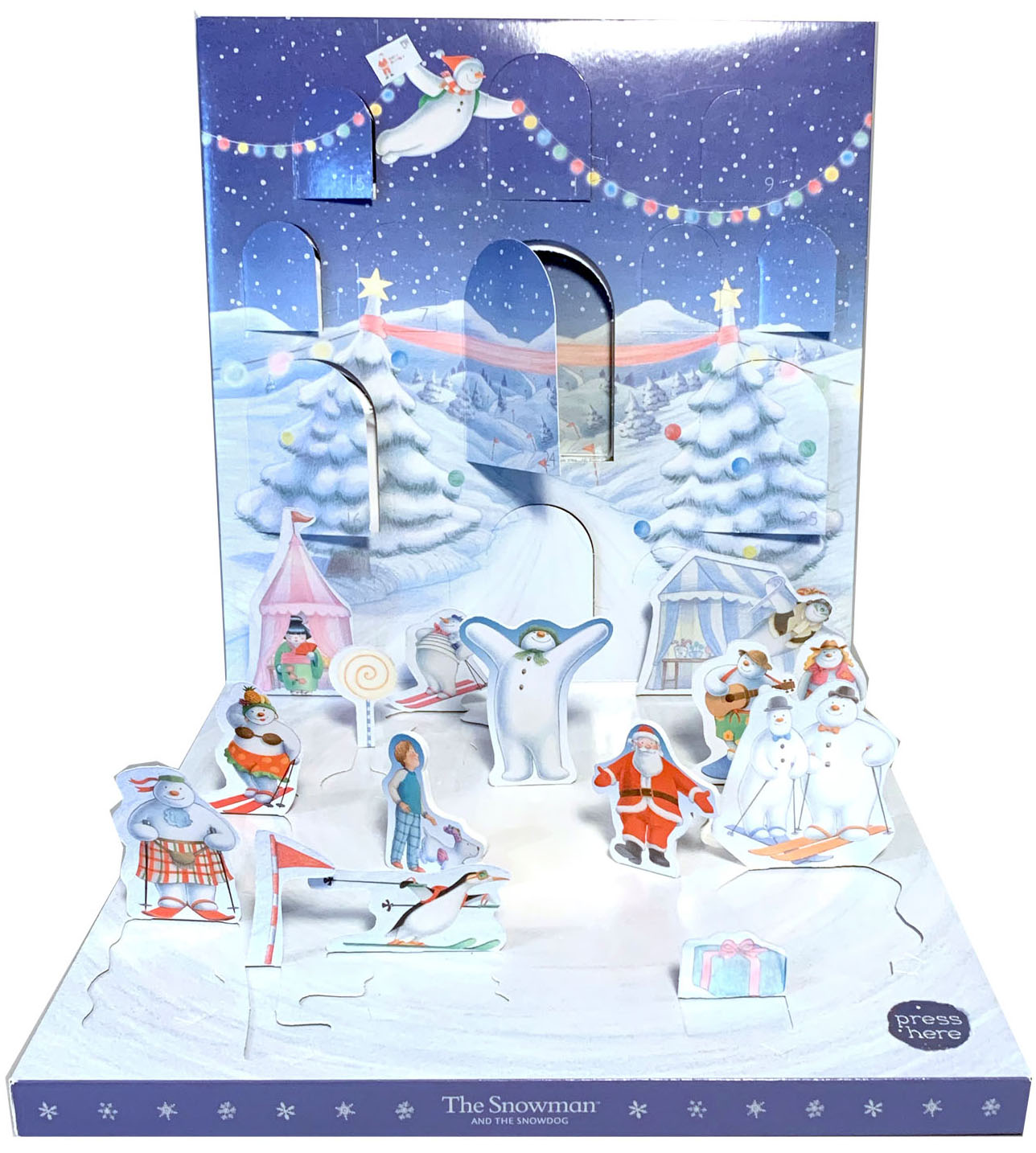 Above: The Snowman Musical Advent which Danilo developed in collaboration  with My Design Co is debuting in John Lewis as well as online.