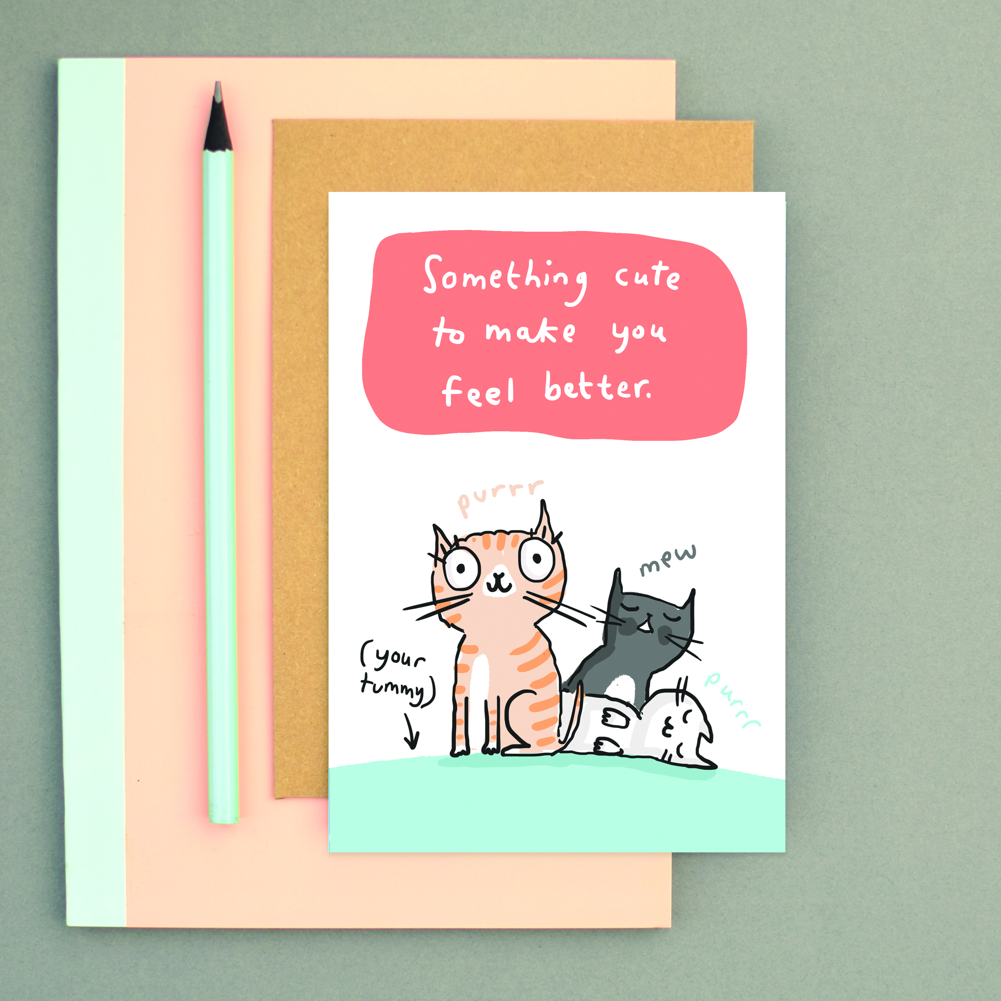 Above: The adorable card designs of Sarah Ray.