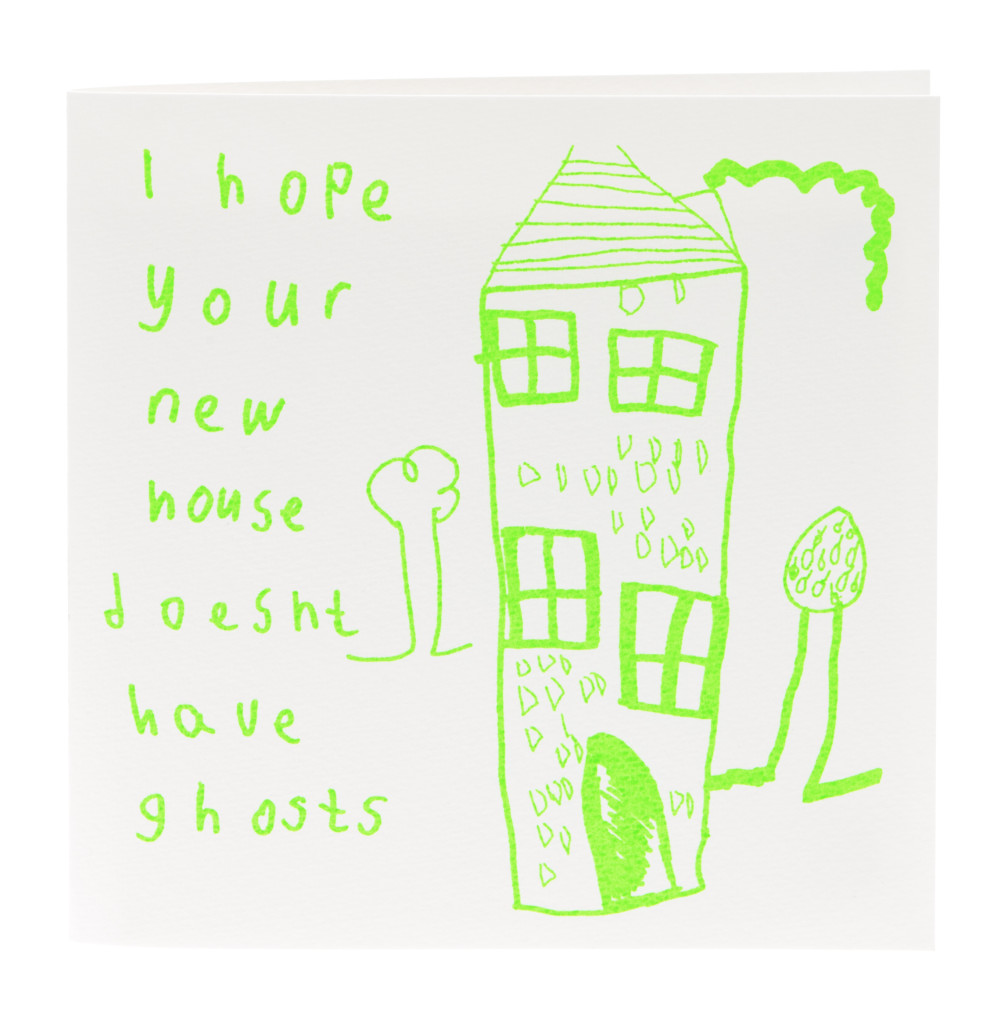 Above: A particular Arthouse Unlimited favourite at The Alphabet Gift Shop, this New Home card.