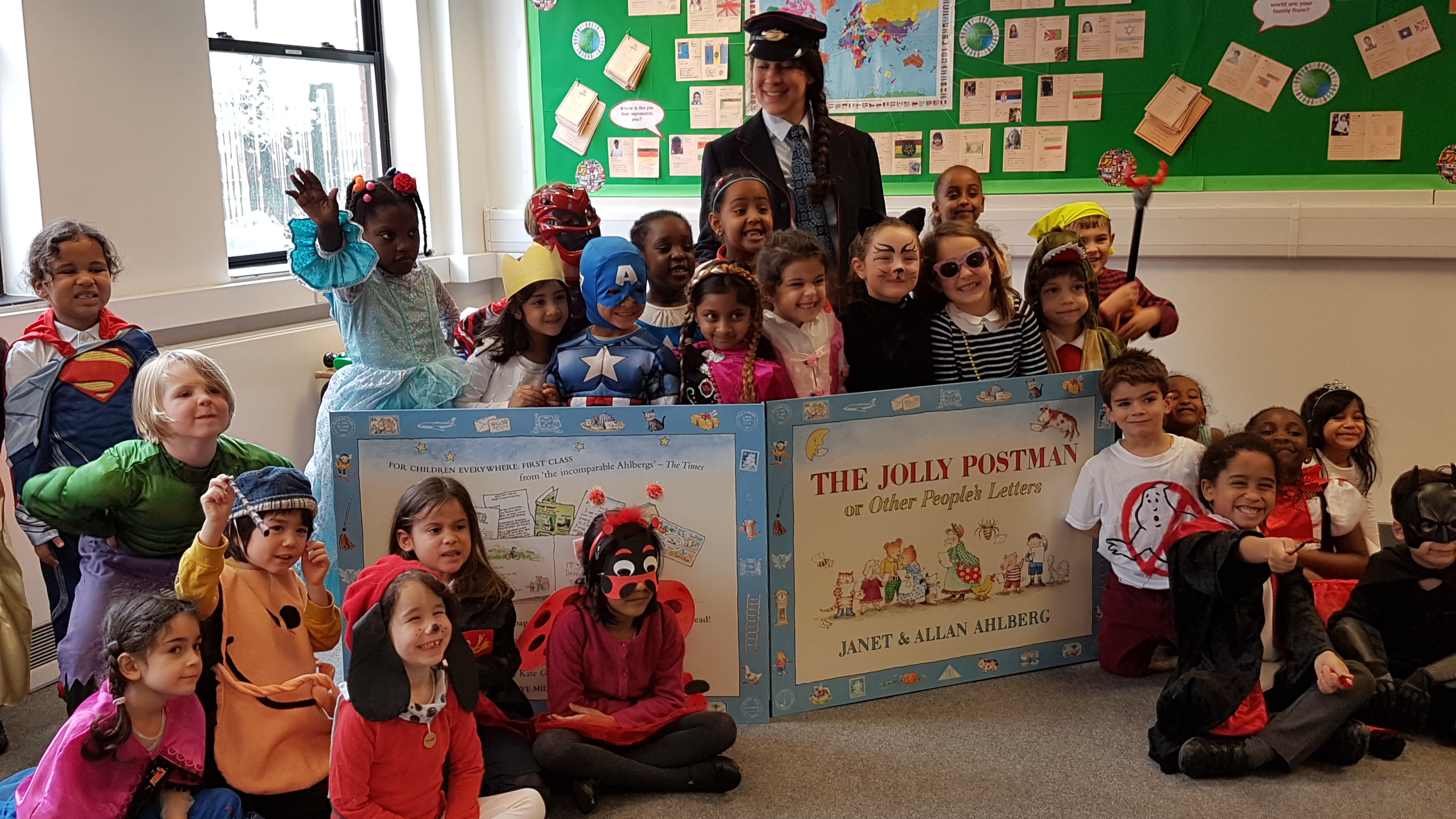 Above: Blake Envelopes has teamed up with The Postal Museum to support its Jolly Postman Learning Programme, which aims to help improve literacy in deprived areas of London.