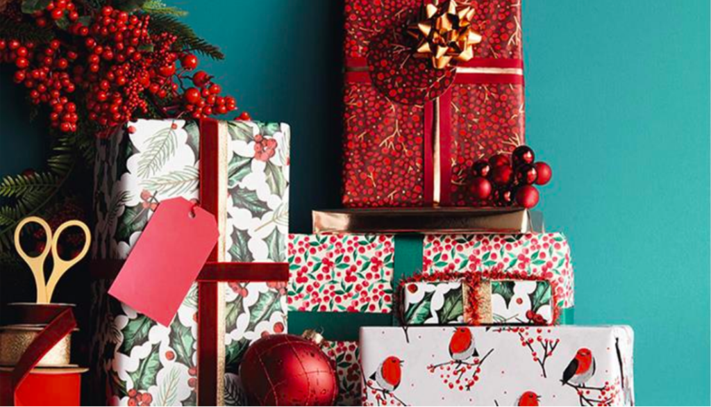 Above: Giftwrapping workshops are being offered by some John Lewis stores as part of its upping its customer experience.