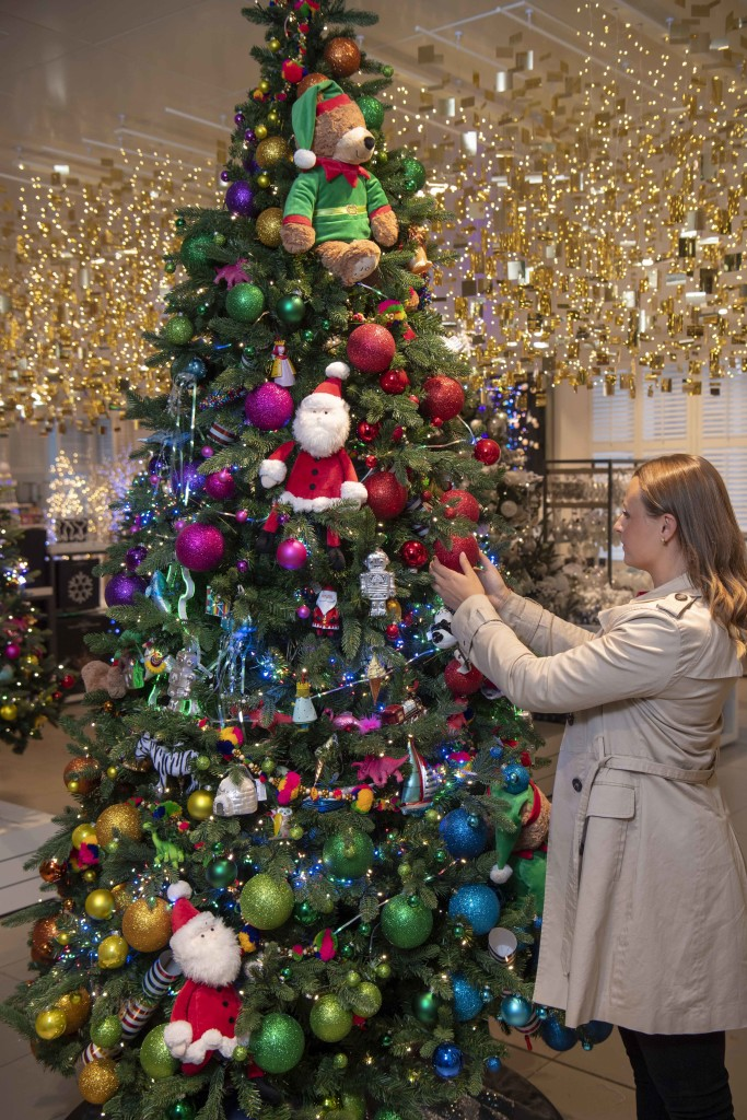 Above: Tree decorating activities are also part of what's on offer from JL&P this year.