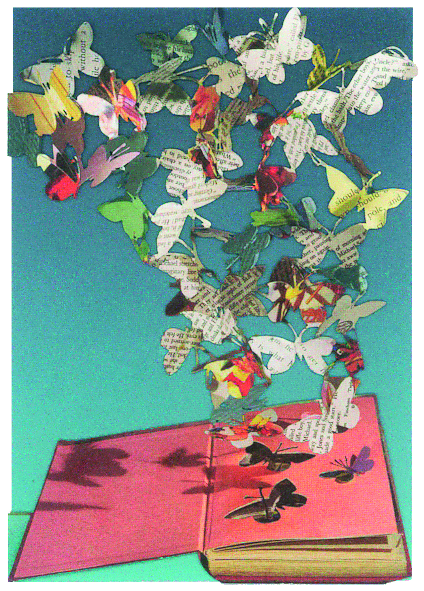 Above: Su Blackwell's artwork translates beautifully onto Roger la Borde's cards for its Scissors Paper Tree range.