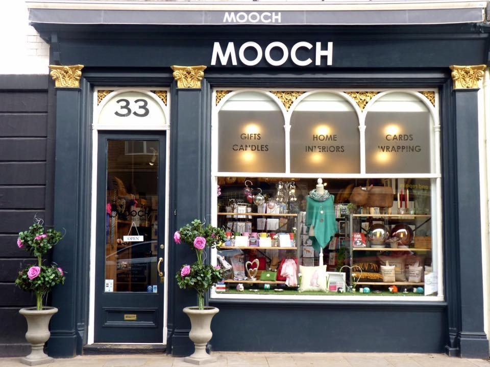 Above: One of Mooch's Northampton stores.
