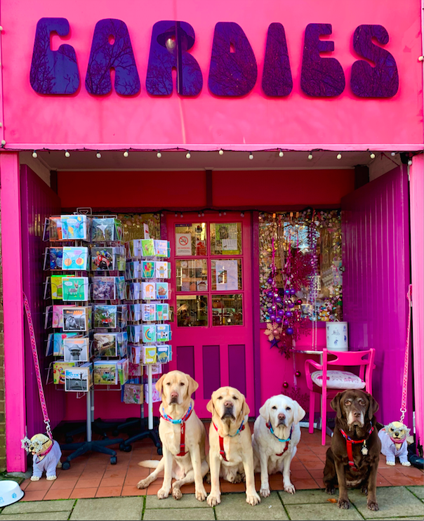 Above: Always a doggie Christmas at Cardies!
