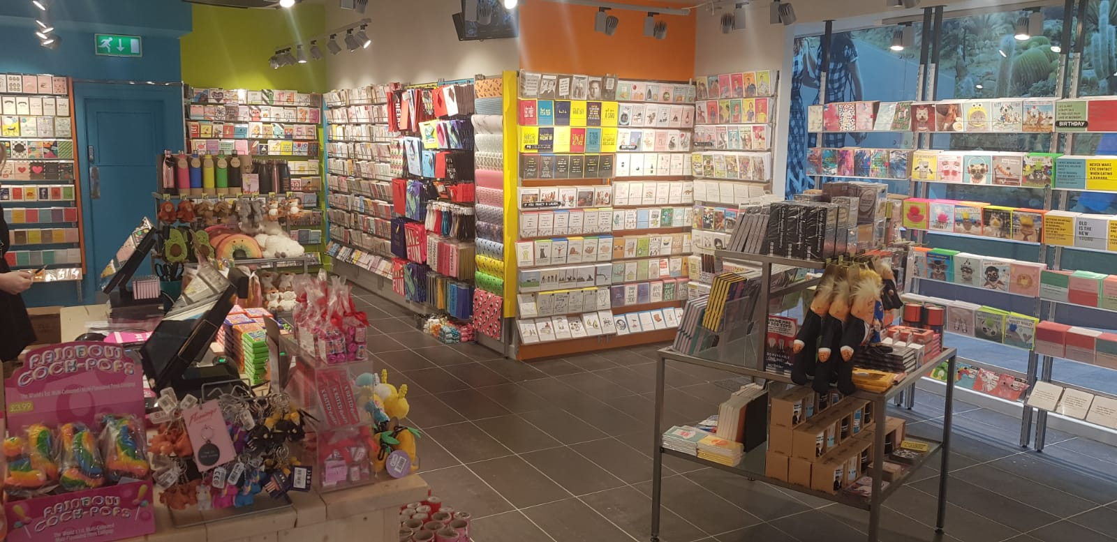 Above: The airy interior of Scribbler's new flagship in Leeds.