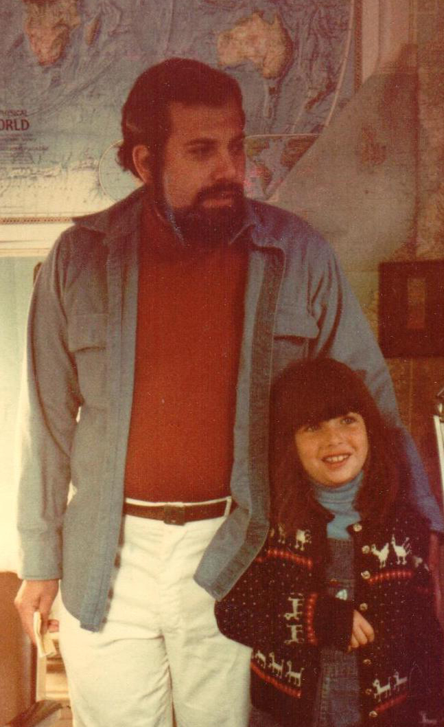 Above: Alan and Vanessa back in 1979. Now she is readying to take over the running of the business.