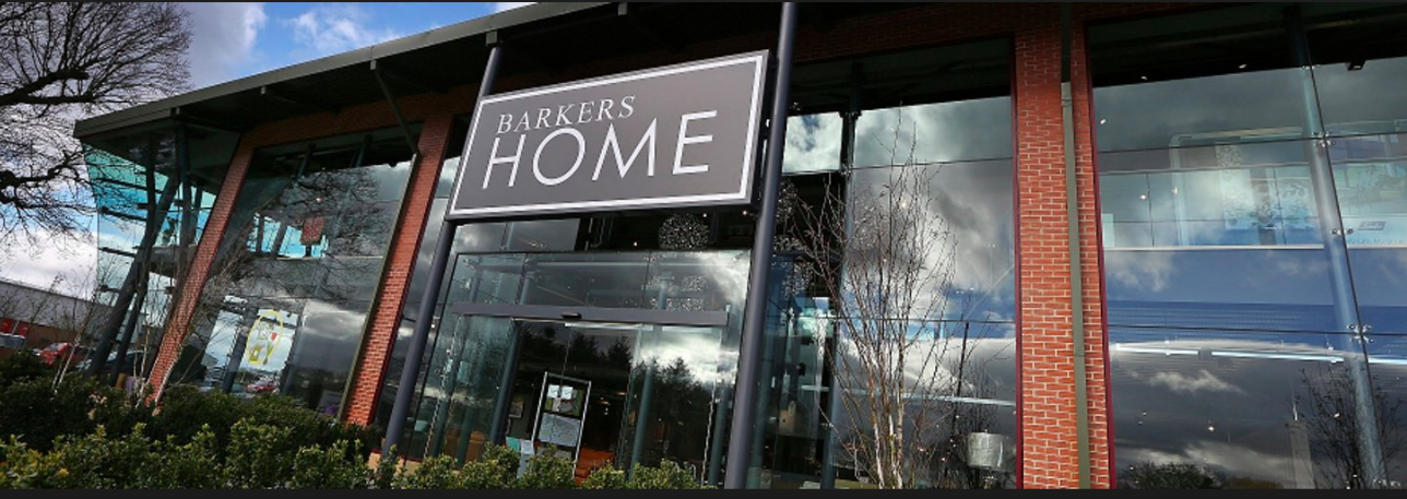 Above: Barkers Home's Christmas card trade was up 1%.