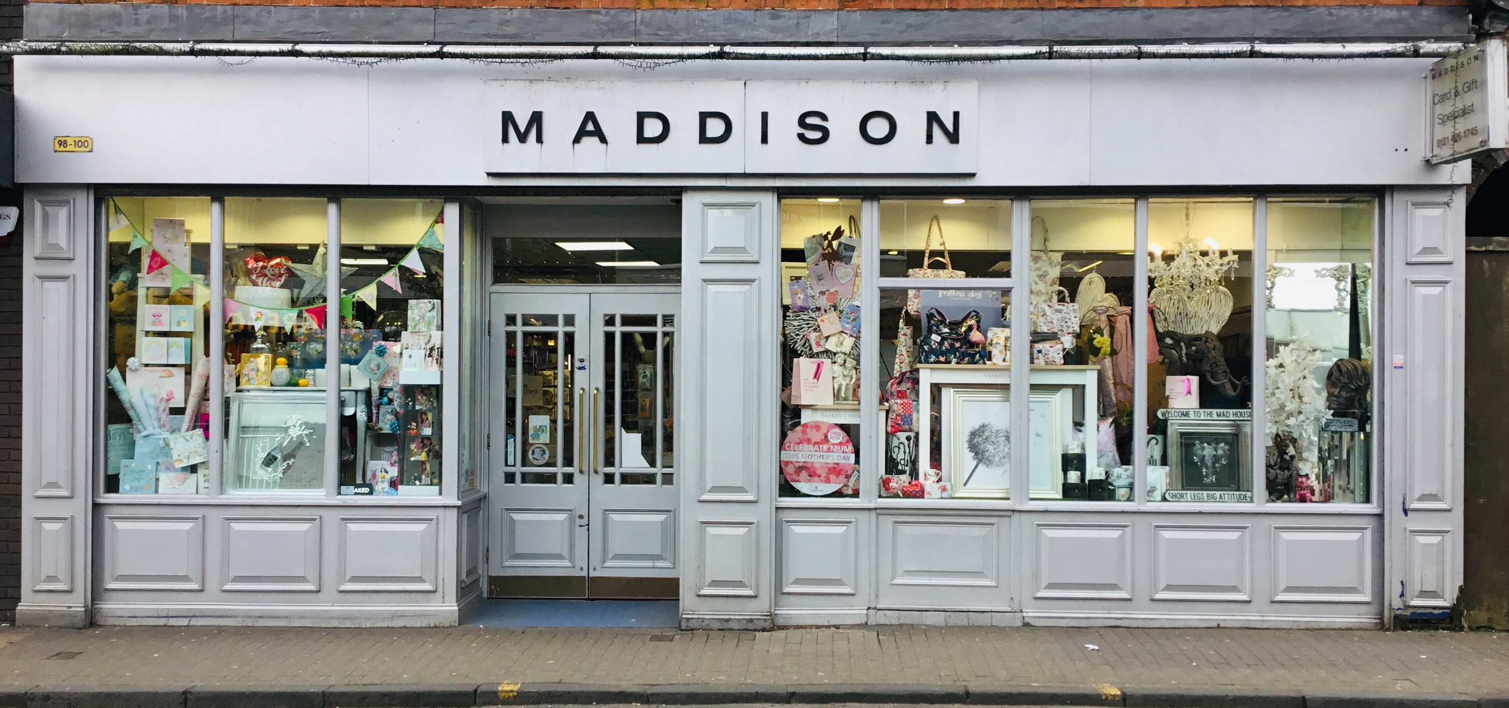 Above: The Christmas card sales were strong across all four of the Bentleys/Maddison stores.