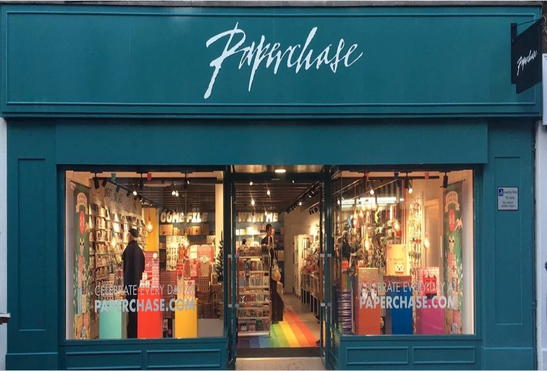 Above: Paperchase has re-opened in a new site in Henley.