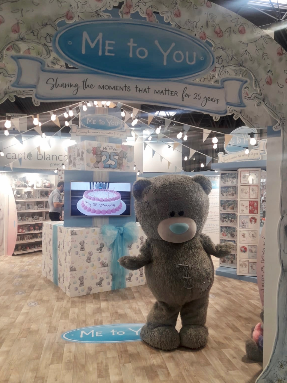 Above: The Spring Fair saw the launch of a revamped Me to You gift collection.