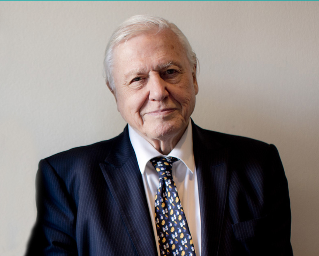 Above: Sir David Attenborough is one of the patrons of the World Land Trust.