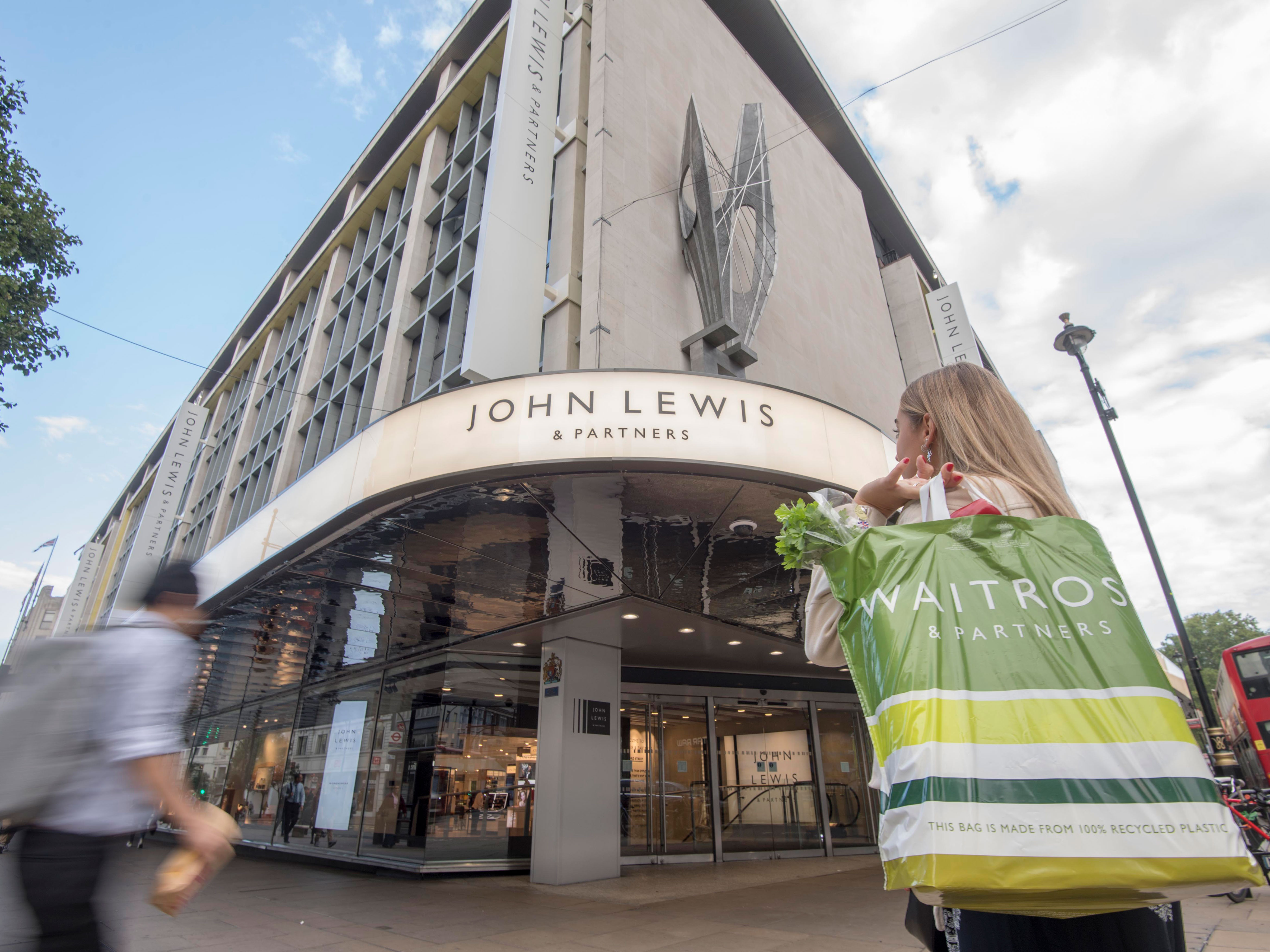 Above: John Lewis experienced a 9% increase in its Valentine's Day card sales year on year.