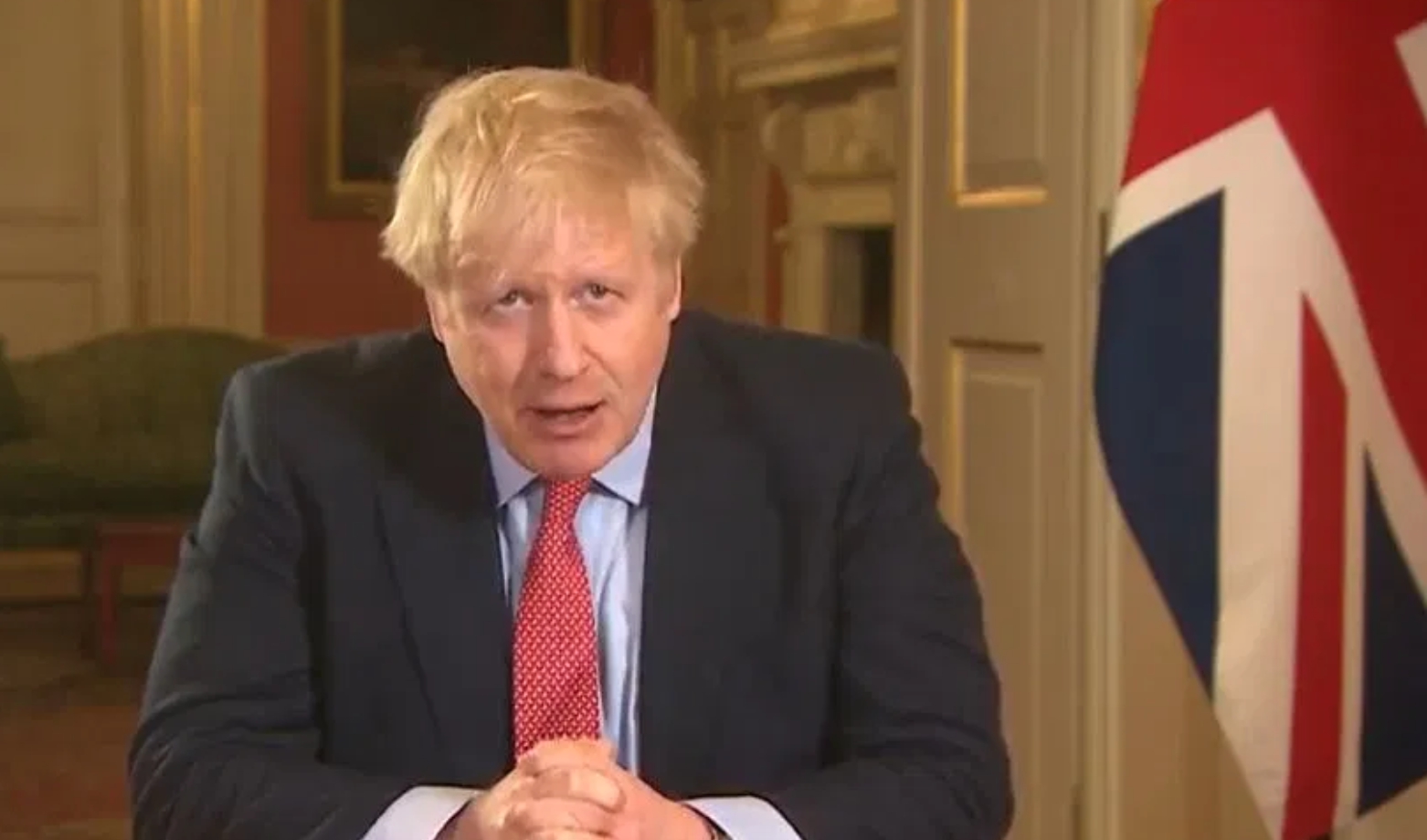 Above: Prime minister Boris Johnson delivering the news that more stringent measures have been put in place in an attempt to stem the spread of the virus.