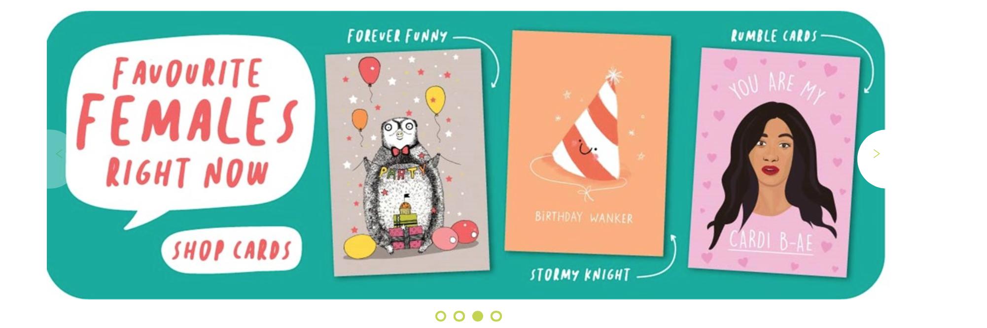 Above: Female designers are promoted on Scribbler's website.