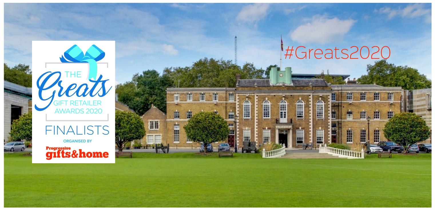 Above: The winners of The Greats gift retailing awards will be announced at a lavish event to be held atLondon's Honourable Artillery Club (HAC) on Wednesday May 13.