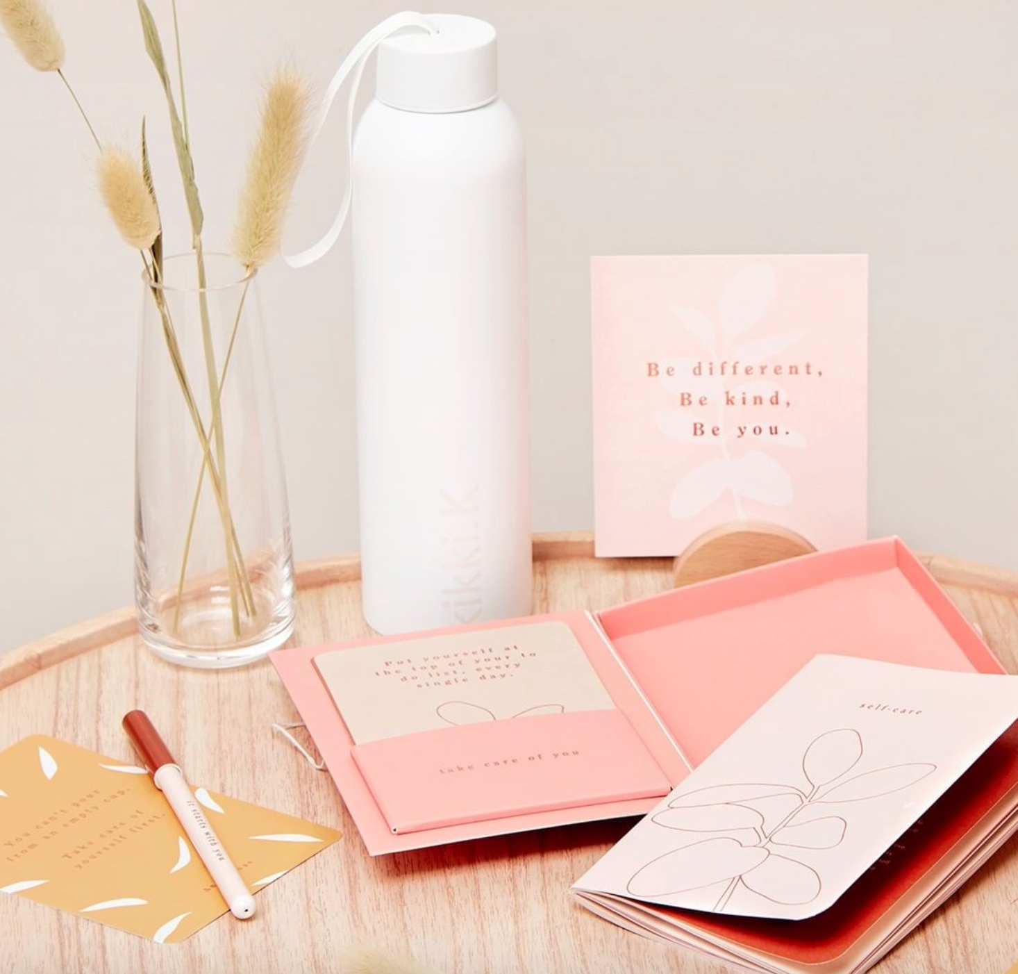Above: kikki.K has built up a following for its cards, stationery and homewares products globally.